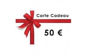 CARTE CADEAUX 50€